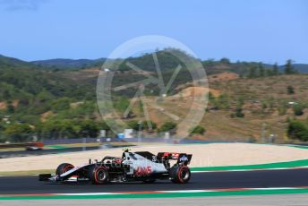 World © Octane Photographic Ltd. Formula 1 – F1 Portuguese GP, Practice 3. Haas F1 Team VF20 – Kevin Magnussen. Autodromo do Algarve, Portimao, Portugal. Saturday 24th October 2020.