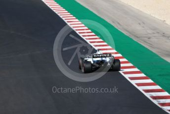 World © Octane Photographic Ltd. Formula 1 – F1 Portuguese GP, Qualifying. Williams Racing FW 43 – George Russell. Autodromo do Algarve, Portimao, Portugal. Saturday 24th October 2020.
