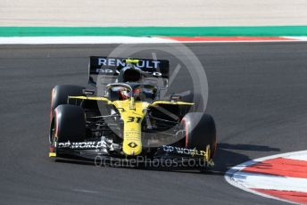 World © Octane Photographic Ltd. Formula 1 – F1 Portuguese GP, Qualifying. Renault Sport F1 Team RS20 – Esteban Ocon. Autodromo do Algarve, Portimao, Portugal. Saturday 24th October 2020.