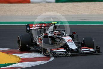World © Octane Photographic Ltd. Formula 1 – F1 Portuguese GP, Race. Haas F1 Team VF20 – Kevin Magnussen. Autodromo do Algarve, Portimao, Portugal. Sunday 25th October 2020.