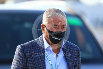 World © Octane Photographic Ltd. Formula 1 – F1 Portuguese GP, Paddock. Williams Racing – Nicholas Latifi's father Michael Latifi. Autodromo do Algarve, Portimao, Portugal. Friday 23rd October 2020.