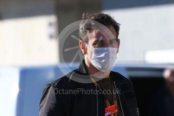 World © Octane Photographic Ltd. Formula 1 – F1 Portuguese GP. Cyril Abiteboul - Managing Director of Renault Sport Racing Formula 1 Team. Autodromo do Algarve, Portimao, Portugal. Saturday 24th October 2020.