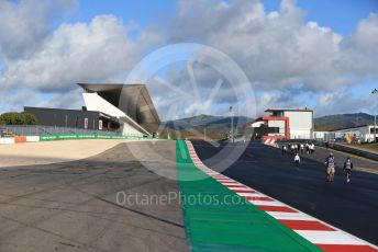 World © Octane Photographic Ltd. Formula 1 – F1 Portuguese GP. Start Straight. Autodromo do Algarve, Portimao, Portugal. Thursday 22nd October 2020.