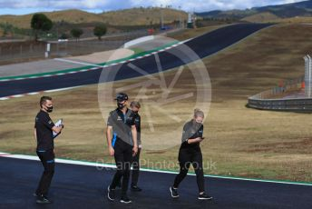 World © Octane Photographic Ltd. Formula 1 – F1 Portuguese GP, Track Walk. Williams Racing FW43 – Nicholas Latifi. Autodromo do Algarve, Portimao, Portugal. Thursday 22nd October 2020.