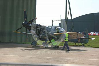 RAF Coningsby. Supermarine Spitfire Mk.XVI TE311 SZ-G of the Battle of Britain Memorial Flight (BBMF). 2nd June 2021. World © Octane Photographic Ltd.