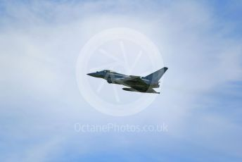 RAF Coningsby. Eurofighter Typhoon FGR4 ZJ946 takes off. 2nd June 2021. World © Octane Photographic Ltd.