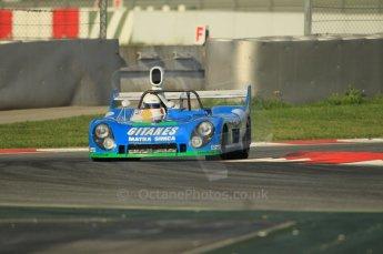 © Octane Photographic Ltd. 2011 Masters Racing Espiritu de Montjuic, April 8th 2011. Sportscar practice. Digital Ref : 0043CB1D0063