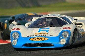 © Octane Photographic Ltd. 2011 Masters Racing Espiritu de Montjuic, April 8th 2011. Sportscar practice. Digital Ref : 0043CB1D0104