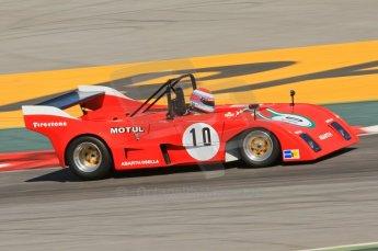 © Octane Photographic Ltd. 2011 Masters Racing Espiritu de Montjuic, April 9th 2011. World Sportscar Masters qualifying. Digital Ref : 0043CB7D0509