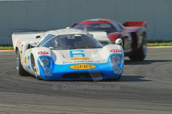 © Octane Photographic Ltd. 2011 Masters Racing Espiritu de Montjuic, April 9th 2011. World Sportscar Masters qualifying. Digital Ref : 0043CB1D0758