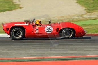 © Octane Photographic Ltd. 2011 Masters Racing Espiritu de Montjuic, April 9th 2011. SWorld Sportscar Masters qualifying Digital Ref : 0043CB1D0807