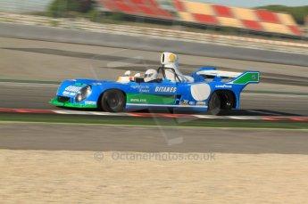 © Octane Photographic Ltd. 2011 Masters Racing Espiritu de Montjuic, April 8th 2011. Sportscar practice. Digital Ref : 0043CB1D0016