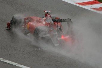 World © Octane Photographic. Belgian GP - Spa Francorchamps, Practice 1, 28th August 2009. Luca Badoer, Ferrari F60. Digital Ref :