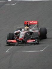 World © Octane Photographic. Belgian GP - Spa Francorchamps, Race, 30th August 2009. Lewis Hamilton, McLaren MP4/24. Digital Ref :