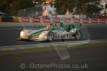 © Octane Photographic 2009. Le Mans 24hour 2009. Dunlop Hill at dawn.  Digital ref: LM09_010