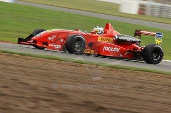 © Octane Photographic 2010. British F3 – Silverstone - Bridge circuit . James Cole - T-Sport. 14th August 2010. Digital Ref : 0051CB1D1625
