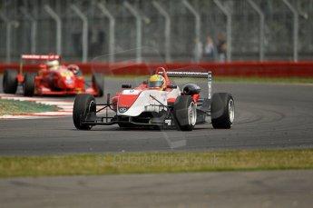 © Octane Photographic 2010. British F3 – Silverstone - Bridge circuit . Max Snegirev - Fortec Motorsport. 15th August 2010. Digital Ref : 0051CB1D2720