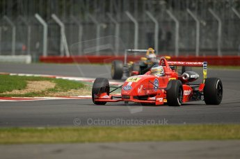 © Octane Photographic 2010. British F3 – Silverstone - Bridge circuit . James Cole - T-Sport. 15th August 2010. Digital Ref : 0051CB1D2723