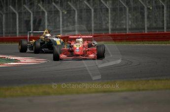 © Octane Photographic 2010. British F3 – Silverstone - Bridge circuit . James Cole - T-Sport, Jay Bridger - Litespeed F3. 15th August 2010. Digital Ref : 0051CB1D2755