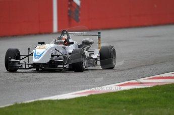 © Octane Photographic 2010. British F3 – Silverstone - Bridge circuit . Pietro Fantin - Hitech Racing. 14th August 2010. Digital Ref : 0051CB7D0641