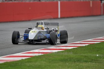 © Octane Photographic 2010. British F3 – Silverstone - Bridge circuit . Menasheh Idafar - T-Sport. 14th August 2010. Digital Ref : 0051CB7D0655