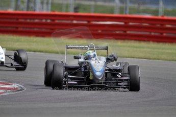© Octane Photographic 2010. British F3 – Silverstone - Bridge circuit . William Buller - Hitech Racing. 14th August 2010. Digital Ref : 0051CB7D1111