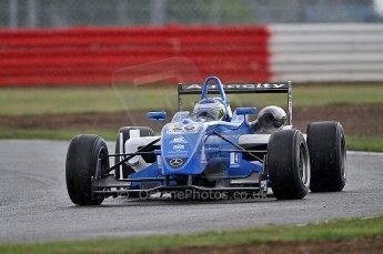 © Octane Photographic 2010. British F3 – Silverstone - Bridge circuit . 14th August 2010. Digital Ref : 0051CB7D1201