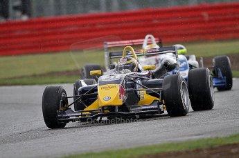© Octane Photographic 2010. British F3 – Silverstone - Bridge circuit .  Jean-Eric Vergne, James Calado - Carlin. 14th August 2010. Digital Ref : 0051CB7D1227