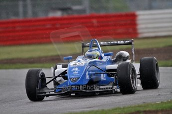 © Octane Photographic 2010. British F3 – Silverstone - Bridge circuit . 14th August 2010. Digital Ref : 0051CB7D1238