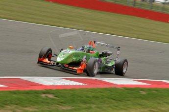© Octane Photographic 2010. British F3 – Silverstone - Bridge circuit . Lucas Foresti - Carlin. 15th August 2010. Digital Ref : 0051CB7D2442