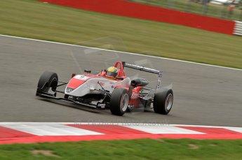 © Octane Photographic 2010. British F3 – Silverstone - Bridge circuit . Max Snegirev - Fortec Motorsport. 15th August 2010. Digital Ref : 0051CB7D2449