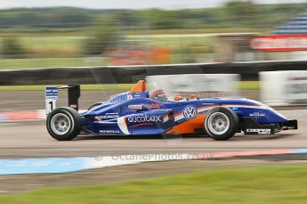 © Octane Photographic 2010. British F3 – Thruxton . Adriano Buzaid - Carlin. 7th August 2010. Digital Ref : CB1D7965