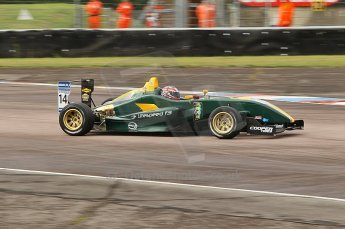 © Octane Photographic 2010. British F3 – Thruxton . Jay Bridger - Litespeed F3. 7th August 2010. Digital Ref : CB1D8094