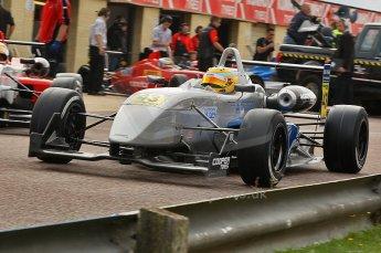 © Octane Photographic 2010. British F3 – Thruxton . Menasheh Idafar - T-Sport. 7th August 2010. Digital Ref : CB1D8119