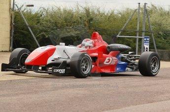 © Octane Photographic 2010. British F3 – Thruxton . Daisuke Nakajime - Raikkonen Robertson Racing. 7th August 2010. Digital Ref : CB1D8237