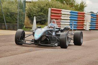 © Octane Photographic 2010. British F3 – Thruxton . Gabriel Dias - Hitech Racing. 7th August 2010. Digital Ref : CB1D8248
