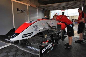 © Octane Photographic 2010. British F3 – Thruxton . Oliver Webb - Fortec Motorsport. 7th August 2010. Digital Ref : CB5D3732