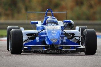© Octane Photographic 2010. British F3 – Thruxton . Carlos Huertas - Raikkonen Robertson Racing. 7th August 2010. Digital Ref : CB7D7238
