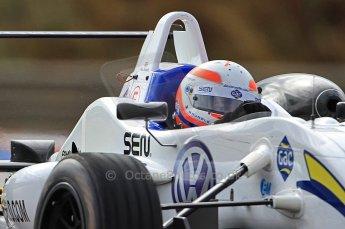 © Octane Photographic 2010. British F3 – Thruxton . Alex Brundle - T-Sport. 7th August 2010. Digital Ref : CB7D7278