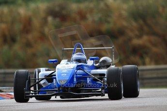 © Octane Photographic 2010. British F3 – Thruxton . Carlos Huertas - Raikkonen Robertson Racing. 7th August 2010. Digital Ref : CB7D7305