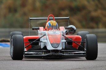 © Octane Photographic 2010. British F3 – Thruxton . Max Snegirev - Fortec Racing. 7th August 2010. Digital Ref : CB7D7409