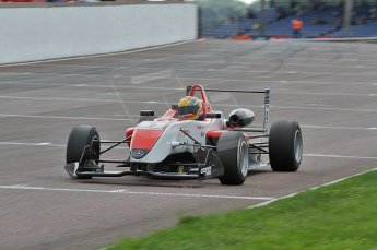 © Octane Photographic 2010. British F3 – Thruxton . Max Snegirev - Fortec Motorsport. 8th August 2010. Digital Ref : CB7D8792