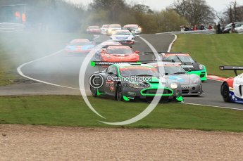 © Octane Photographic 2010. British GT, Oulton Park 5th April 2010. Digital Ref :
