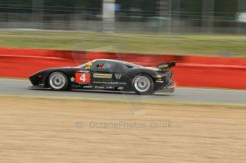 © Octane Photographic 2010. British GT Championship, Silvertstone, 14th August 2010. Digital ref : 0034cb1d2181