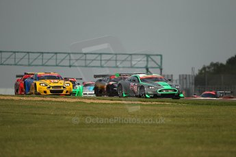 © Octane Photographic 2010. British GT Championship, Silvertstone, 15th August 2010. Digital ref : 0034cb1d2924