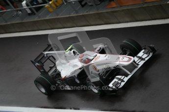 © Octane Photographic 2010. 2010 F1 Belgian Grand Prix, Friday August 27th 2010. Sauber C29 - Kamui Kobayashi. Digital Ref : 0030CB1D0024