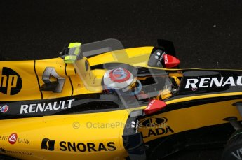 © Octane Photographic 2010. 2010 F1 Belgian Grand Prix, Friday August 27th 2010. Renault R30 - Vitaly Petrov. Digital Ref : 0030CB1D0264