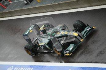© Octane Photographic 2010. 2010 F1 Belgian Grand Prix, Friday August 27th 2010. Lotus T127 - Heikki Kovalainen. Digital Ref : 0030CB1D0458