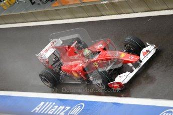 © Octane Photographic 2010. 2010 F1 Belgian Grand Prix, Friday August 27th 2010. Ferrari F10 - Felipe Massa. Digital Ref : 0030CB1D0681