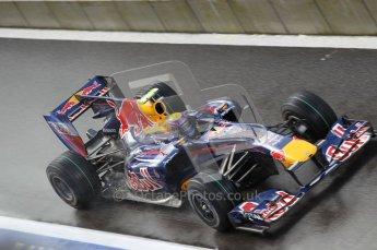 © Octane Photographic 2010. 2010 F1 Belgian Grand Prix, Friday August 27th 2010. Red Bull RB6 - Mark Webber. Digital Ref : 0030CB1D0765